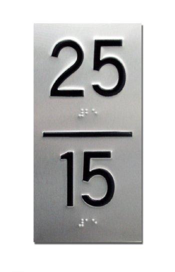 Destination Dispatch Elevator Id And Jamb Plate