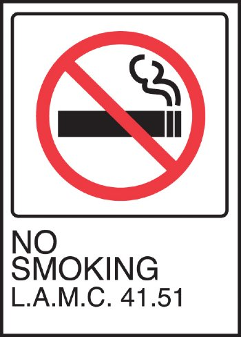 No Smoking Signs - No Smoking Beyond This Door - No Smoking Signs ...